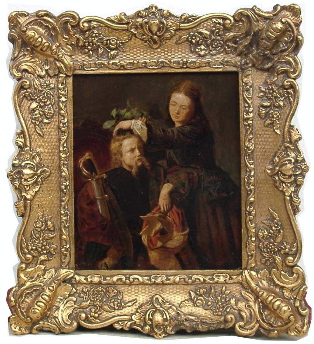 k pper friedrich genre romantik russischer f rst biedermeier painting ebay. Black Bedroom Furniture Sets. Home Design Ideas